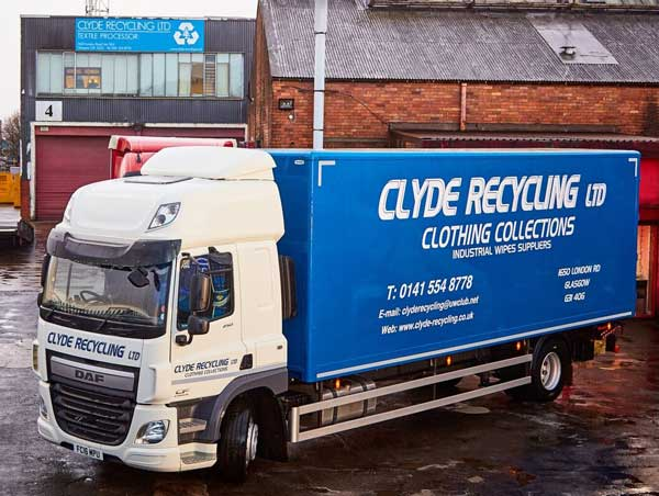 clyde recycling truck